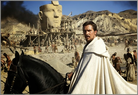 christian bale in EXODUS GODS&KINGS