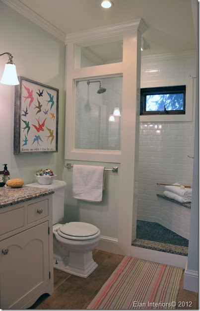 Elan Interiors: Before And After Farmhouse Bathroom Remodel