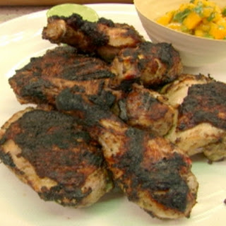 Griddled Jerk Chicken With Mango-coriander Relish