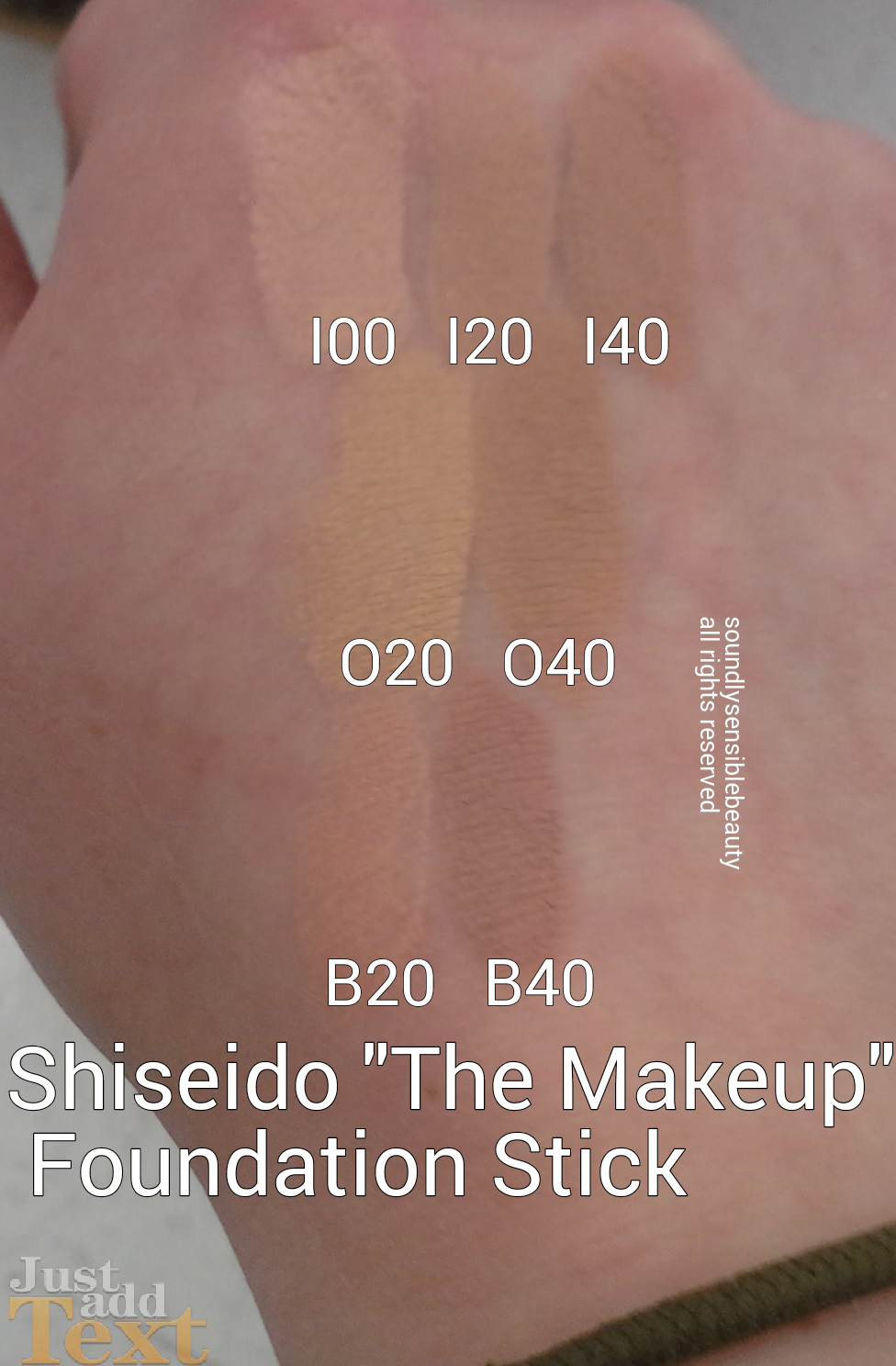 The Makeup Stick Foundation by Shiseido #3
