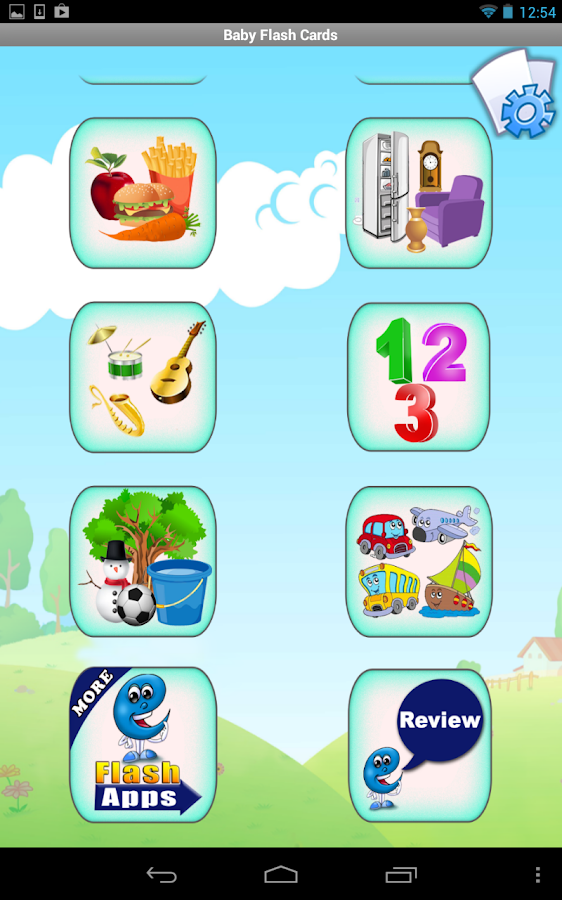 Baby Flash Cards Plus for Kids- screenshot