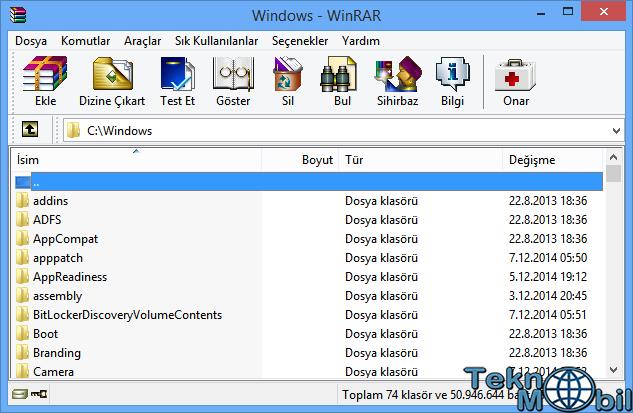 WinRAR Türkçe Full