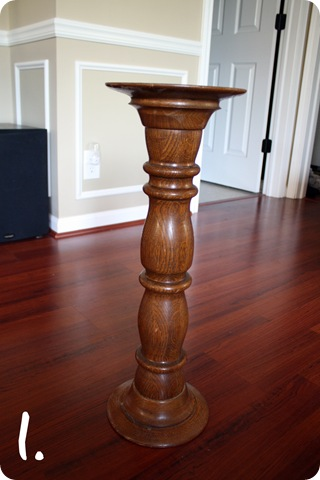 chunky candlestick