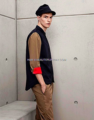 Marni H&M Mens shirt Khaki Trousers , Mens Hat