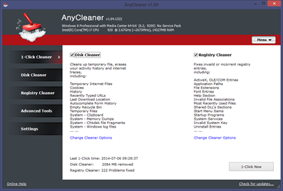 Free Any Cleaner – 1 Click Automatic PC Cleaner