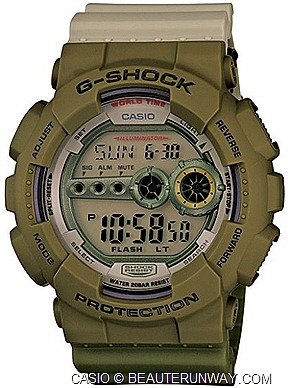 CASIO G-shock GD-100PS  special collaborative watch model G-MAN Figurine G-FACTORY JCUBE  GD-100PS G-MAN STATUE BY SHINO NAKANO