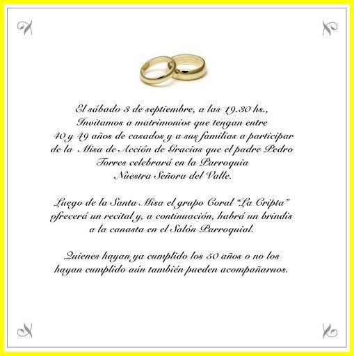 Frases Para Invitaciones De 50 Anos De Casados
