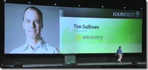 Tim Sullivan在rootstech的主题演讲