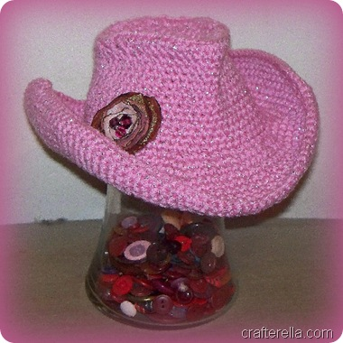 cowgirl baby hat