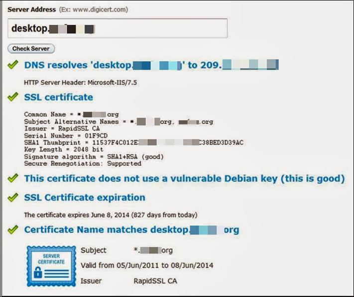 Citrix SSL Error 61 : Resolving Trust in a Security