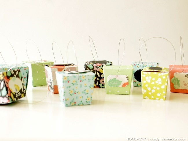 Lifestyle Crafts Die Cut Take Out Boxes via homework