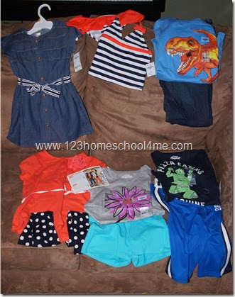 OshKosh B'gosh is affordable - 6 outfits for $100