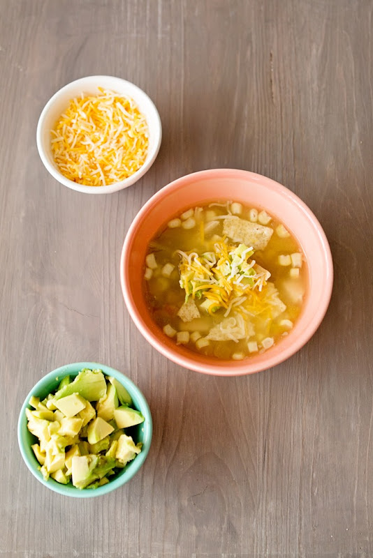 15 minute dinner - white chicken chili