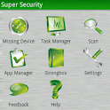 Super Security beta logo
