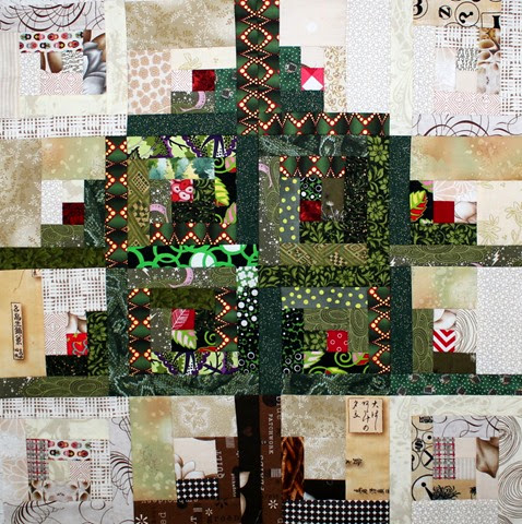 Log Cabin Christmas Tree Quilt.Log Cabin Christmas Tree Block Tutorial For The 52 Twisted