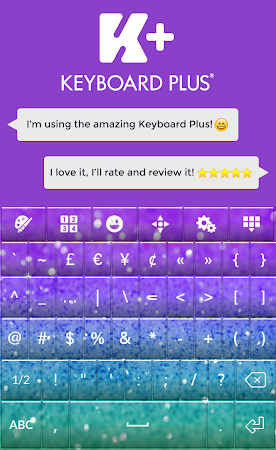 Glitter Keyboard Theme 2.0 screenshot 2012847