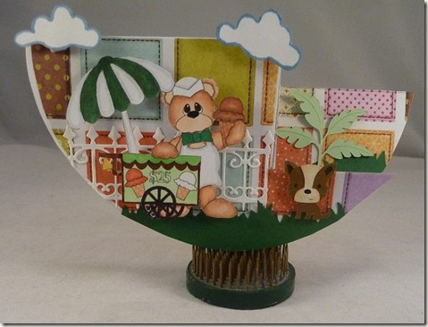 bear w ice cream cart ds