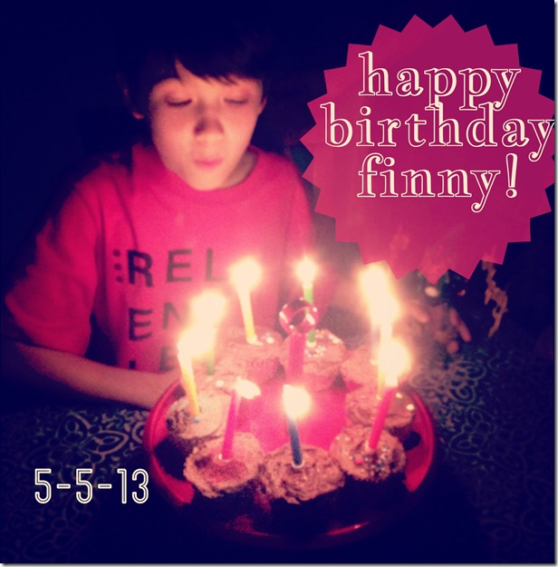 The Finnster is NINE. An all inclusive bday report.