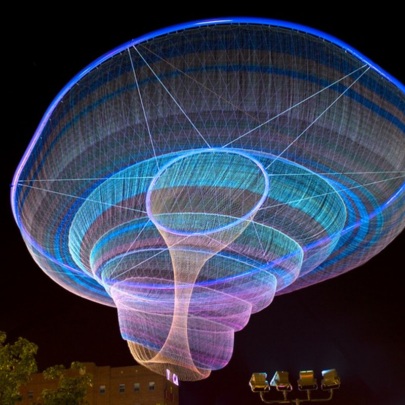 Janet Echelman's Floating Sculptures