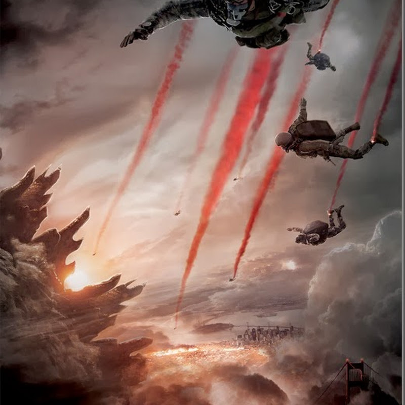 "New Teaser Poster Drops for ""Godzilla"""