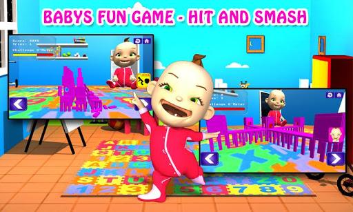 寶寶的有趣的遊戲 - 打粉碎 - Children Game