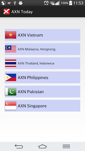 AXN Asia TODAY