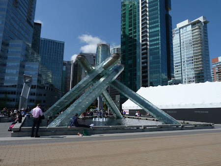 Flacara olimpica la Vancouver