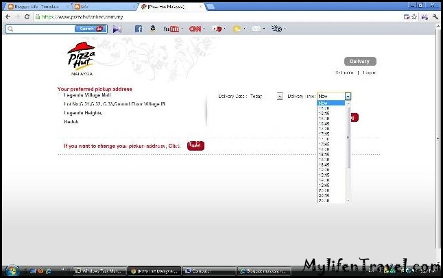 Pizza Hut online 12