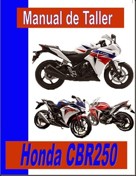 manual motos y atv  honda cbr 250 r