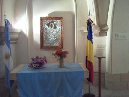 Icoana ortodoxa donata de Patriarh in Argentina