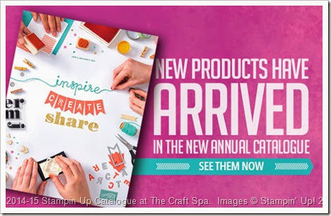 2014_07_01 New 2014-15 SU! Catalogue, New Products, The Craft Spa