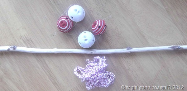 stick bells and thread