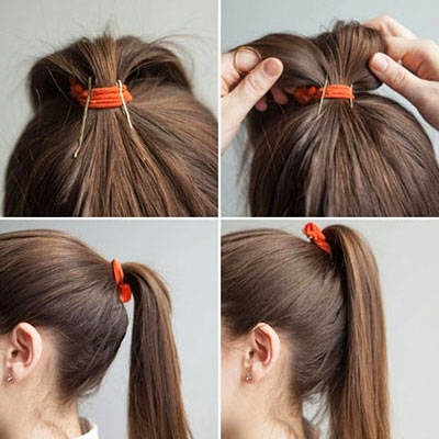 Bobby Pin Hairstyles & Ponytail Hack