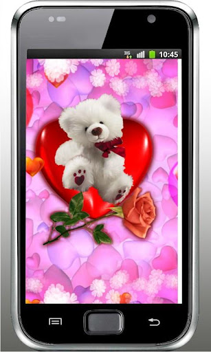 Teddy Bear Valentine Free LWP