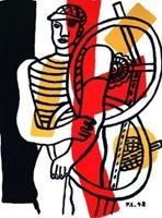 Fernand Lege - Le Cycliste - 1948