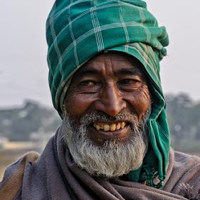 Full of life by Kaushik Dolui - People Portraits of Men ( people )