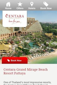 Centara Hotels & Resorts screenshot 0
