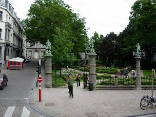 Square du Petit Sablon à Bruxelles