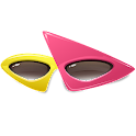 Aviary Stickers: Glasses icon