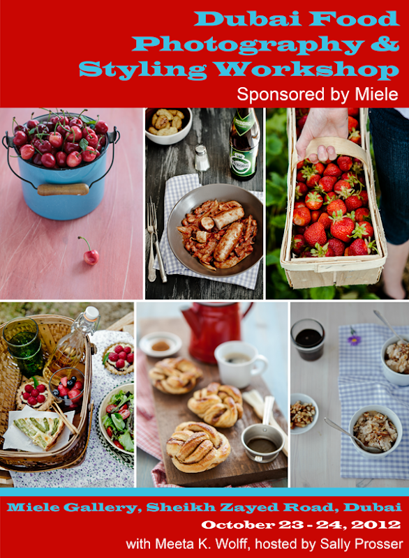 Miele Dubai Food Photography and Styling Workshop