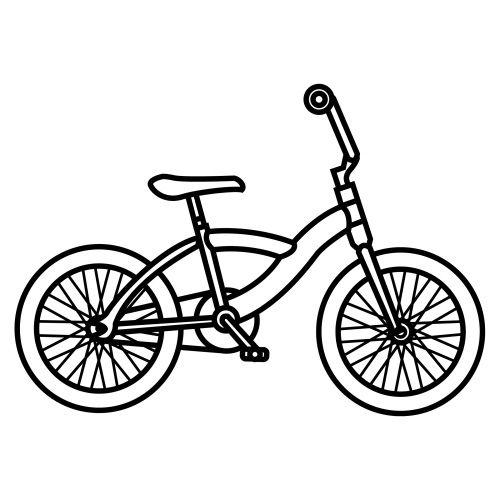 Colorear Dibujos De Bicicletas