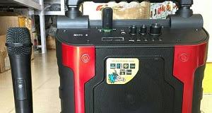 Loa a/d/s DA160A (KÈM 1 micro không dây) - có bluetooth