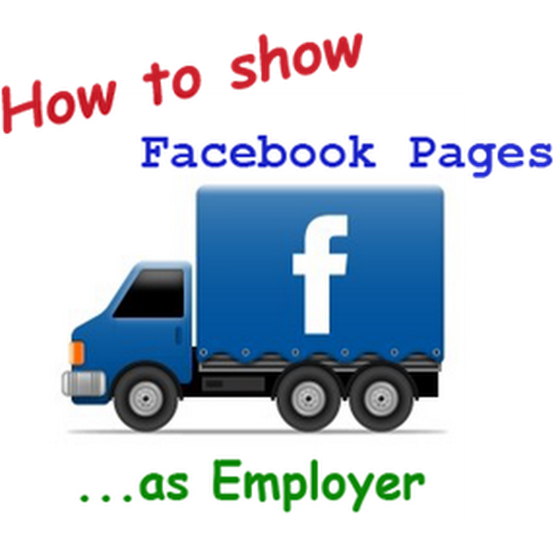 How to Add Employer to Facebook Timeline to Promote Facebook Pages