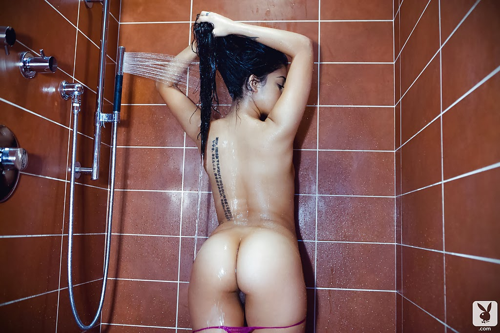 Takeoff gifs nude before the shower slapping men the