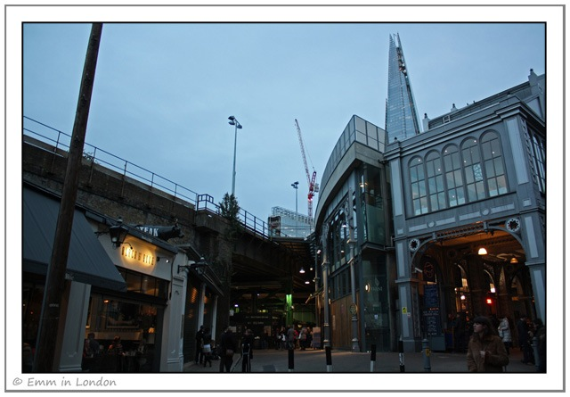 Borough Market and Shard