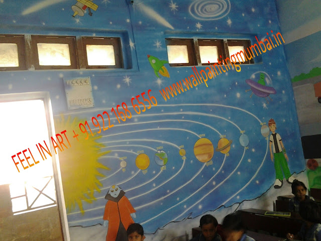 SCHOOL WALL MURAL ARTIST IN MUMBAI