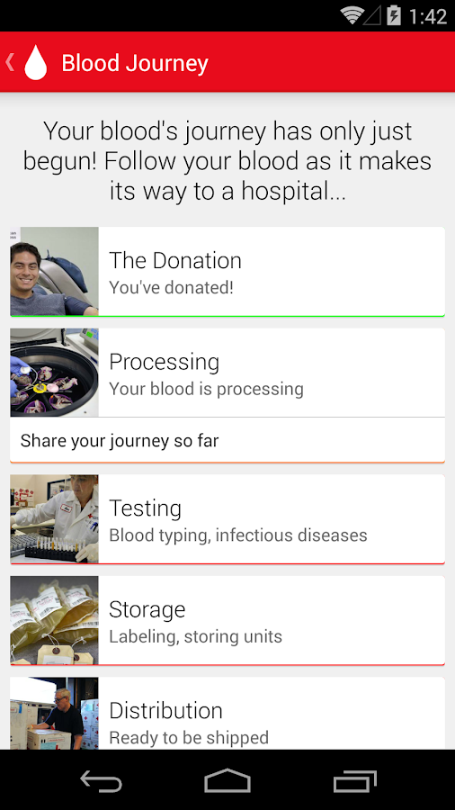 Blood Donor- screenshot