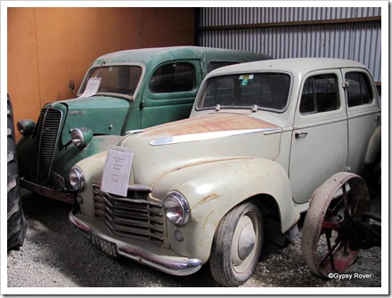 1950 Vauxhall Wyvern and a 1942 Fordson van