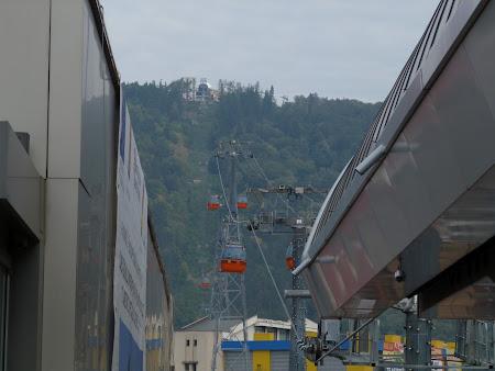 Obiective turistice Romania: teleferic Piatra Neamt