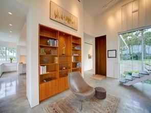Decoracion interior casa en Barrier Island de arquitectos Sanders Pace